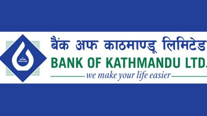 Bank of Kathmandu Ltd