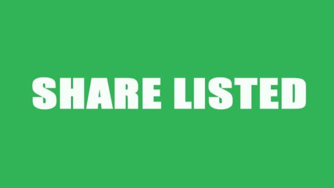share listed