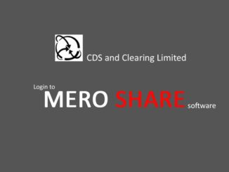 Mero share software-cdsc