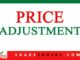 price adjustment