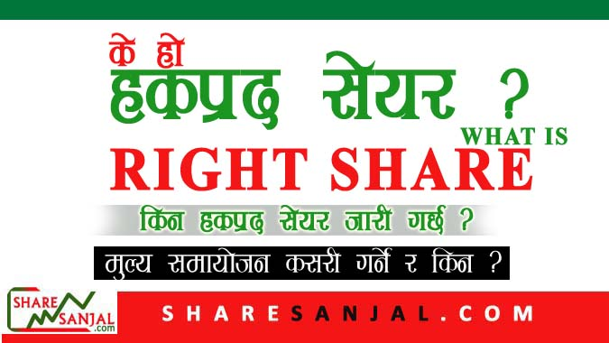 what is right share