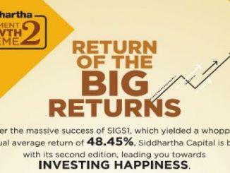 siddhartha investment growth schemes 2