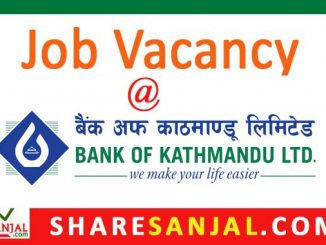 bank of kathmandu vacancy